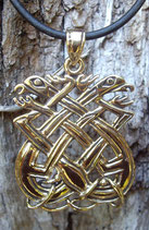 Pendentif en bronze - Book of Kells