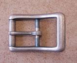Boucle à rouleau pour sangle de 25 mm finition vieux cuivre