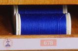 fil polyester cordonnet marine 678