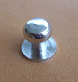 Bouton de col nickel taille 3