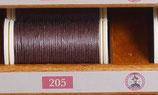 fil de lin glacé havane 205