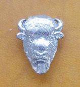 Concho tête de bison
