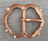 Boucle médiévale bronze
