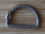 Dés de fixation serpent - anneau demi rond - 25 mm