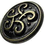 Grand nœud celtique - laiton vieilli