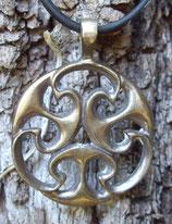 Pendentif en bronze - nœud celtic
