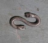 Crochets bracelet serpent vieil argent