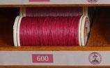 fil de lin glacé vieux rose 600