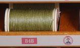 fil de lin glacé vert bronze 848