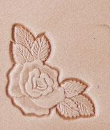 """Matoir """"3D"""" coin rose"""