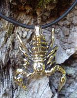 Pendentif en bronze - Scorpion