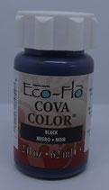 Peinture opaque à base d'eau - NOIR - Cova Color