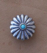 Concho turquoise 19 mm