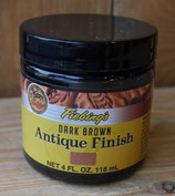 Antique Finish dark brown