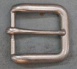 Boucle vieil argent 32 mm