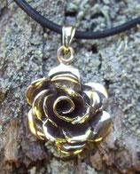 Pendentif en bronze - rose