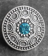 Freya turquoise vieil argent 25 mm