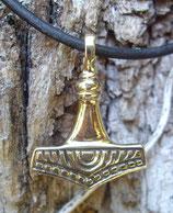 Pendentif en bronze - Petit marteau de Thor