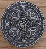 Bouclier celtique laiton