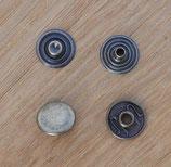 Pressions 12 mm laiton vieilli
