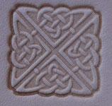 Matoir cuir 3D carre celtique