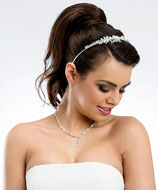 Halskette u. Ohrring im Set N24B