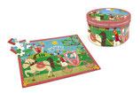 """Scratch - Puzzle 60 pièces """"Princesses"""" (4+)"""