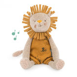 "Moulin Roty - Poupée musicale lion ""Sous mon baobab"""
