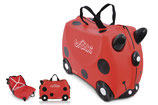 "Trunki - Valise ""ride on"" coccinelle (3+)"