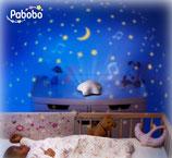 Pabobo - Projecteur d'étoiles musical USB