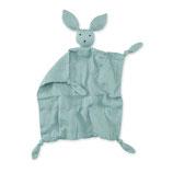 Bemini - Doudou tétra Bunny vert d'eau