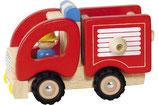Goki - Camion de pompiers en bois (2+)