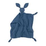 Bemini - Doudou tétra Bunny - bleu minéral