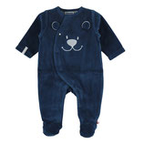 Noukie's - Pyjama 1 pièce velours à pieds