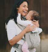 Ergobaby - Porte bébé en lin beige