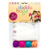 """Doddle Bags - Pack de 8 gourdes """"compotines"""" réutilisables"""
