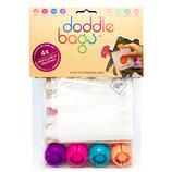 """Doddle Bags - Pack de 4 gourdes """"compotines"""" réutilisables"""