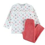 Noukie's - Pyjama 2 pièces velours