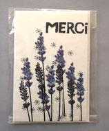 MERCI - klein 10,5 x 15,5 cm - einzeln oder im günstigen 3er-Pack