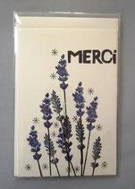 MERCI - groß 12,0 x 18,5 cm - einzeln oder im günstigen 3er-Pack