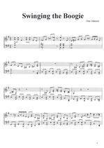 Swinging The Boogie - Noten