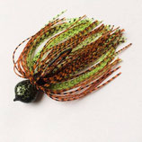 Radicalistic Illusion Skirted Jig (Brown Green Medusa)