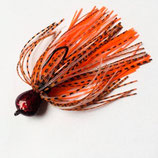 Radicalistic Illusion Skirted Jig (Orange Dragon)