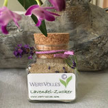 Lavendel- oder Rosenblüten-Zucker