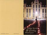 Wenskaart 2011 met omslag - Kasteel Beaulieu Nocturne