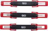 Kabel-Entriegelungswerkzeug-Satz | universal | 3-tlg.   9807