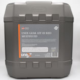 UNEX Gear ATF III Multifluid RED