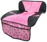 Kindersitzunterlage Ballet Doll grau/rosa - 26177