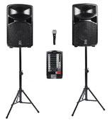 Ton Paket 1 Yamaha Stagepas 600i (passiv, 680 Watt RMS)