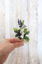 Anstecker - Lavendel und Beeren